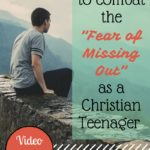 Four Ways to Combat the Fear of Missing Out