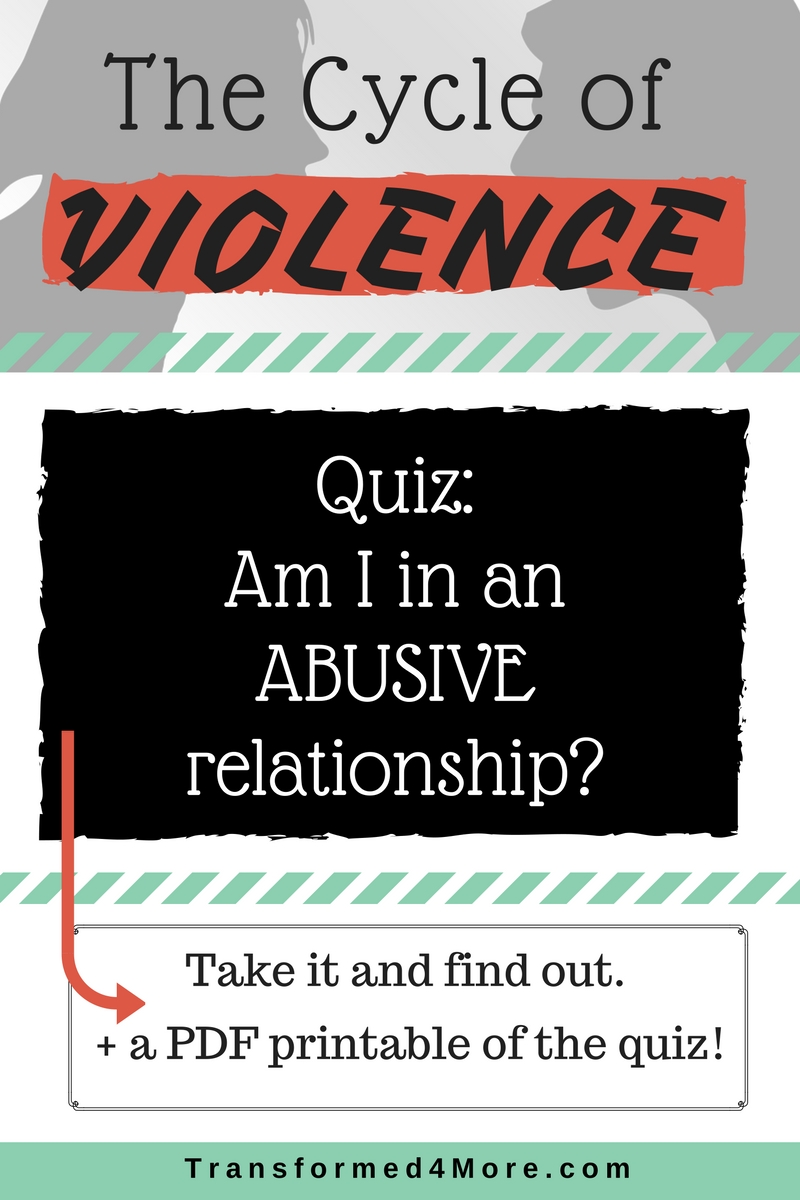 Was i in an abusive relationship quiz