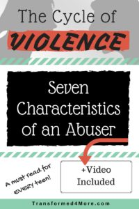 characteristics of an abusive man
