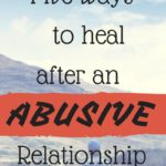 Healing After an Abusive Relationship