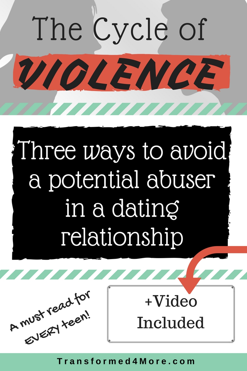 Potential Abuser| Cycle of Violence| Teenage Dating| Girls Ministry| Transformed4More.com