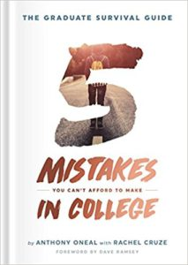 Five Mistakes You Can't Afford to Make in College| Amazon Affiliate Link