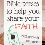 Five Bible Verses to Help You Share Your Faith