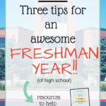 VLOG: Three Tips for a Great Freshman Year