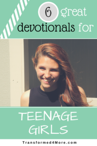 Teen girl devotional book authoritative message